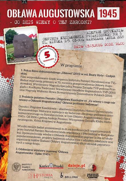 CKU plakat A3 (oblawa wersja 2)