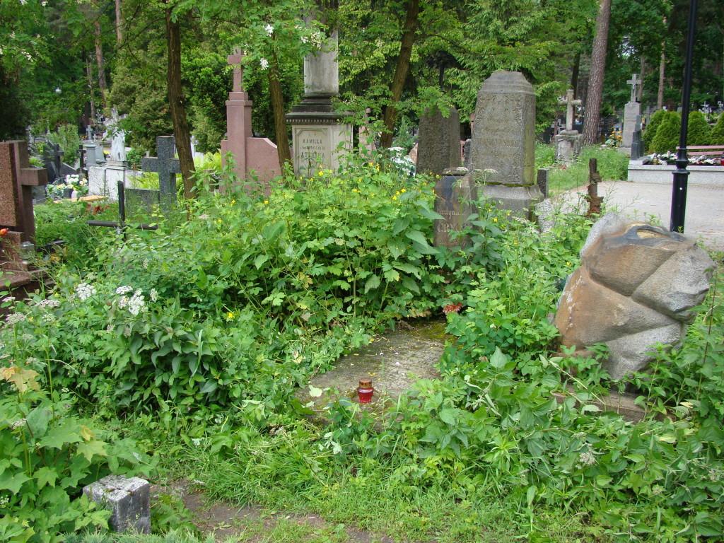 Czy pamiętamy, że tak wyglądał teren przed cmentarną kaplicą?