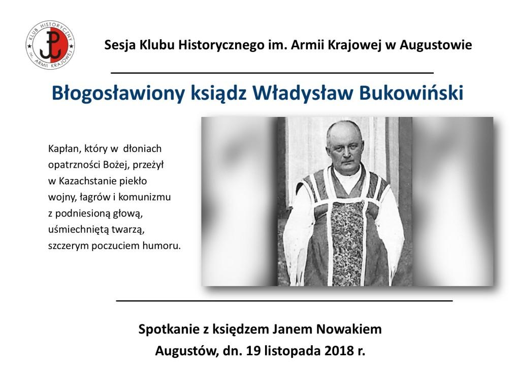 Ksiądz Bukowiński