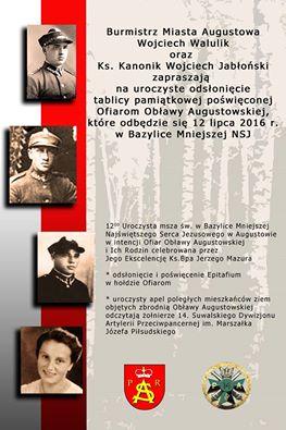 Plakat OA 12.07.2016