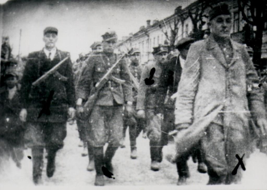 Suwałki 25 kwietnia 1947 r. ujawnienie obwodu WiN na czele Grabowski ps. Cyklon